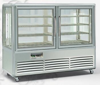 Вітрина холодильна Tecfrigo KUBO 500 G (silver) (БН)