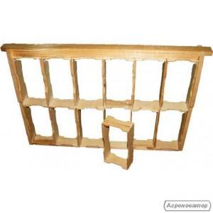 Рамка для сотового меду під рамку 435Х300 маленька
