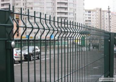 Панельные (секционные) заборы из сварной сетки