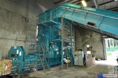 Прес автоматичний для вторсировини (макулатури, ПЕТ) ВОА 2040, 55 тонн