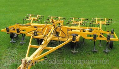 Культиватор АПП-6.02-01 предназначен для сплошного раз- рыхления почвы на глубину до 16 см на полях со склонами не более 30 градусов, предварительно о