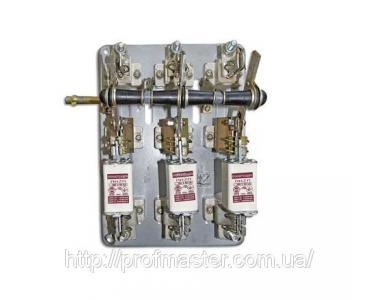 Рубильник РПБ РПБ-1 (100А), РПБ-2 (250 А), РПБ-4 (400 А) РПБ-6 (600А), з боковим приводом