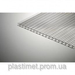 Сотовый поликарбонат Marlon прозрачный 6000х2100х4 мм