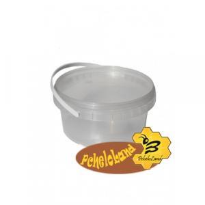 Відро пластикове для меду 0.5 л (сертифіковане)