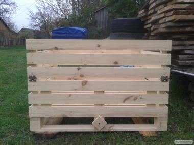изготовлю деревянные контейнеры для фруктов и овощей