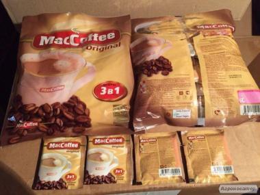 Маккофе 3в1 опт і роздріб всіх смаків