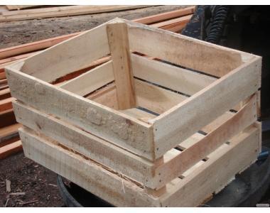 Ящик для яблок Польский кубик