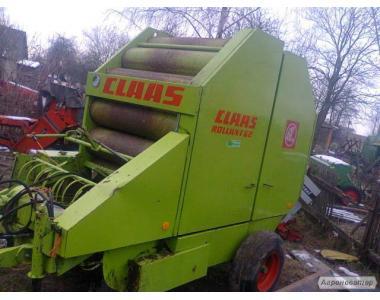 Пресс -подборщик рулонный Claas Rollant 62