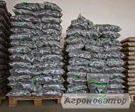 брикети з лушпиння соняшнику в мішках по 15 кг