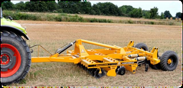 Дисколаповый почвообрабатывающий агрегат Maximulch Serie 3R
