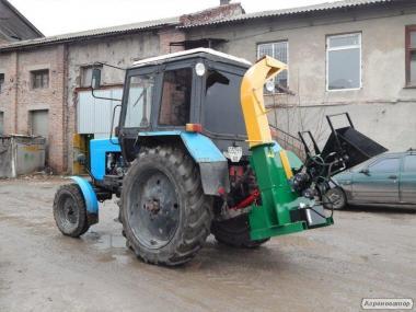 Машины рубильные МР (рубилка, деревоизмельчитель) (4-20 м³/час)