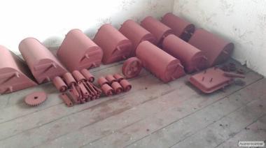 Комплектуючі до навантажувачів КШП-6,5