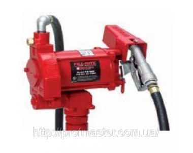 Насос бочковой для перекачки бензина 20В, 75л/мин, насос бочковой бензиновый