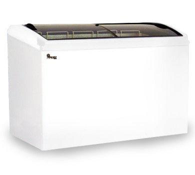 Морозильний лар з гнутим склом Juka M 300 S
