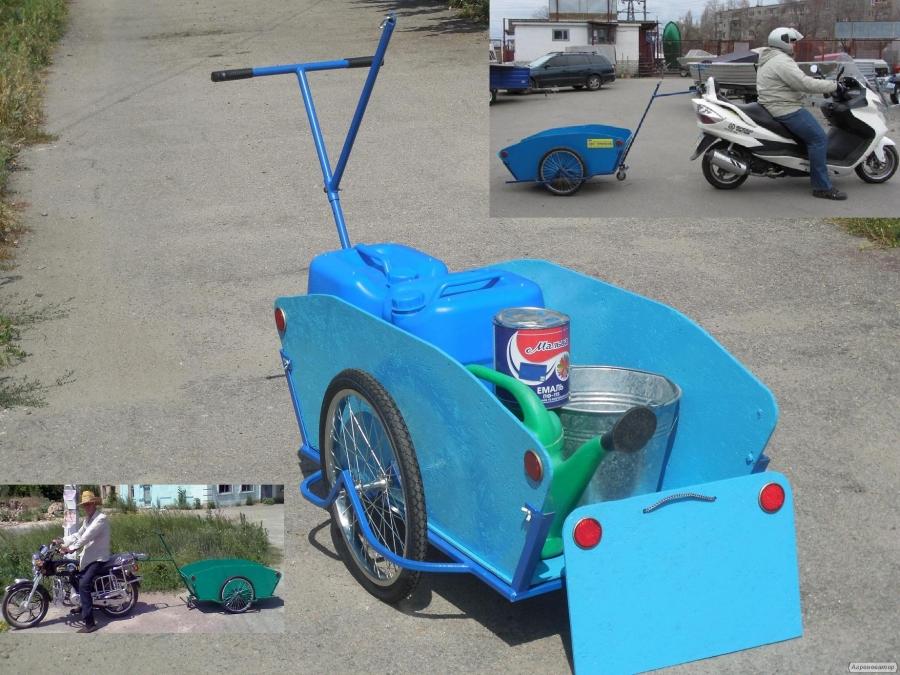 Вело причіп вантажний візок господарська Везун-1