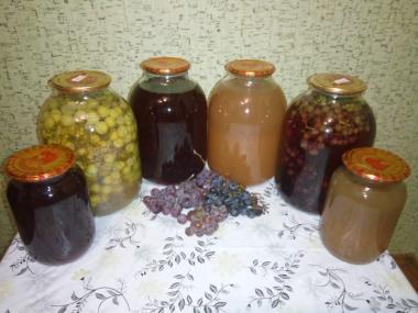 Сік виноградний - натуральний 100%,  Сок виноградный натуральный