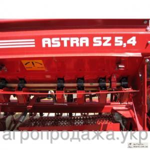 Сеялка прицепная зерновая Астра (СЗ)5,4А Эльворти (с ТУ, вариатором, пальцевым загортачем, сист. контроля)