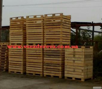 """Евроконтейнеры,контейнеры из дерева,дерев""""яне ящики"""