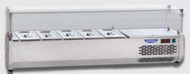 Витрина холодильная DGD VR4140VD (БН)