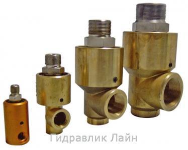 Ротационные соединения, гидрошарниры (ротационные или поворотные муфты) однопоточные, двухпоточные, мультипоточные