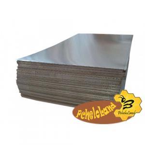 Лист Алюминиевый 1000 х 800 мм, толщина 0,32 мм. Для оббивки крыш ульев