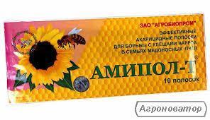 АМІПОЛ-Т эфективные смужки від кліща