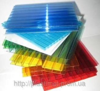 Поликарбонат Italon, бронза, опал, красный, синий, зеленый 6000х2100х4 мм