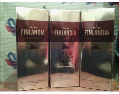 Горілка фінляндія червона журавлина