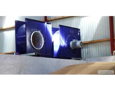 Вентилятор  для  сушки  или  вентиляции  зерна