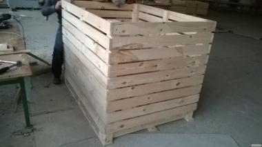 Ящик деревянный (контейнер) для картофеля 1600х1200х1200