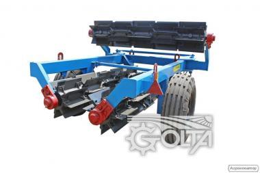 Каток-подрібнювач ріжучий водоналивной КР-6П-01