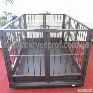 Ваги для зважування худоби 1250х2000, 1500 кг