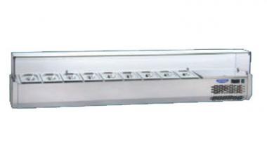 Охлаждаемая витрина гнутое стекло Tecnodom VR4 203 VС