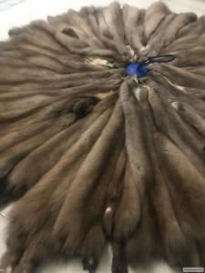 Продаю мех шкуры куницы лесной выделанные, шубные наборы