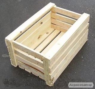 Ящик дерев'яний для яблук ГОСТ