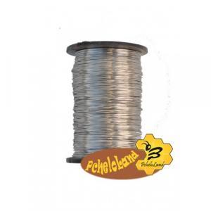 Проволока пчеловодная из нержавеющей стали 0,25 кг., диаметр проволоки 0,3…0,4 мм.