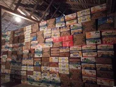 Банановые ящики новые