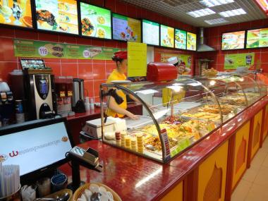 Автоматизация фаст-фуда пиццерии, баров, ресторанов R-keeper