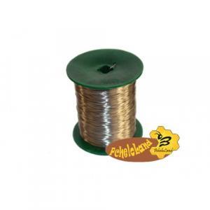 Проволока пчеловодная из нержавеющей стали 0,5 кг., диаметр проволоки 0,3…0,4 мм.