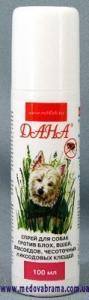 ДАНА спрей для собак, Апі-Сан, Росія (100 мл)