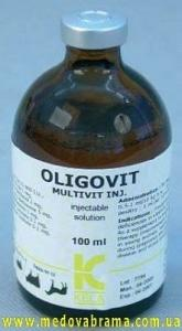 Олиговит (Oligovit) КЕЛА, Бельгія — вітамінно-мінеральний комплекс для тварин (100 мл)