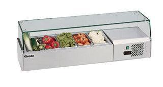 Вітрина холодильна Bartscher 110110 (БН)