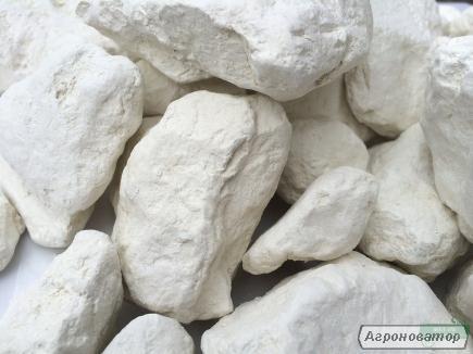 Глина БІЛА натуральна каолін в гранулах, пакет 500 г