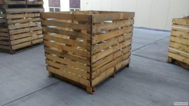 деревяний контейнер для зберігання овочів б/у