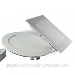 Светодиодный встраиваемый светильник-панель