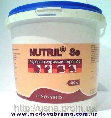 Нутрил-Se, ЛЕК, Словенія (0,5 кг) - водорозчинний порошок, вітаміни для тварин і птахів
