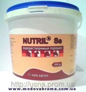 Нутрил-Se, ЛЕК, Словения (0,5 кг) - водорастворимый порошок, витамины для животных и птиц