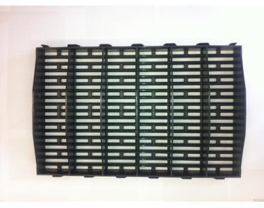 Продам пластикові щілинні підлоги, підлоги з пластику