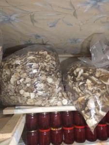 Продам білі сушені гриби в наявності є 60кг