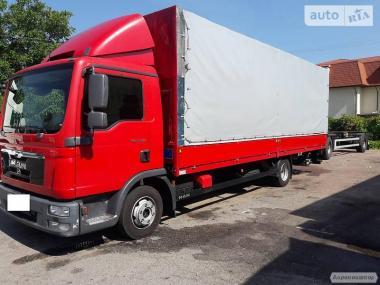 Вантажоперевезення 5т, 40м3 тент по Житомиру та області.